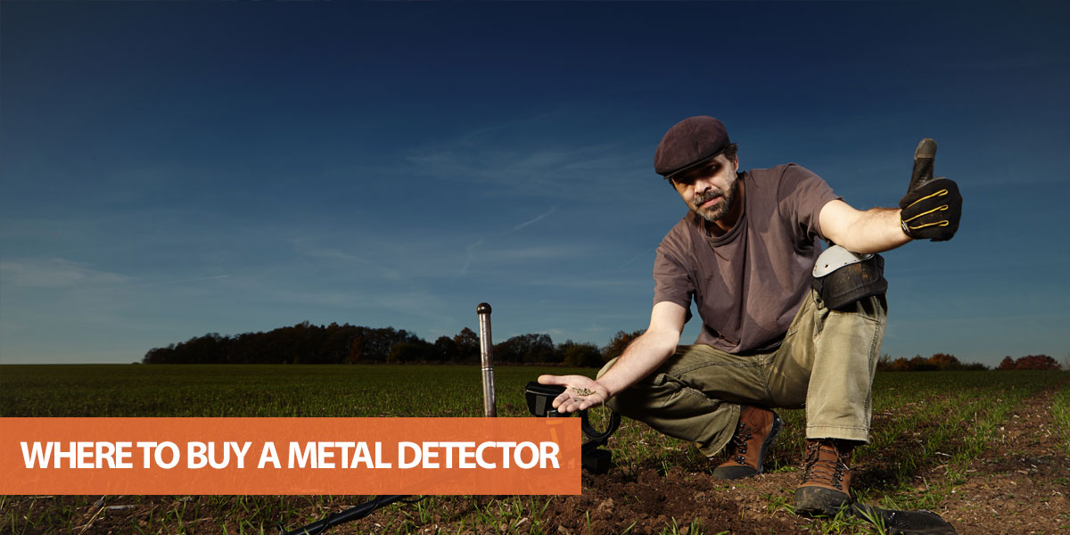 Where to buy a metal detector